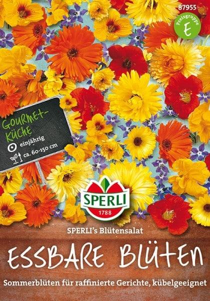 Essbare Blumenmischung SPERLI's Blütensalat