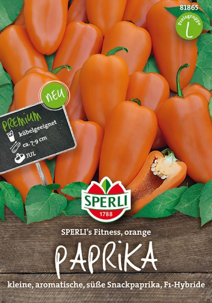 Paprika Sperli´s Fitness Orange