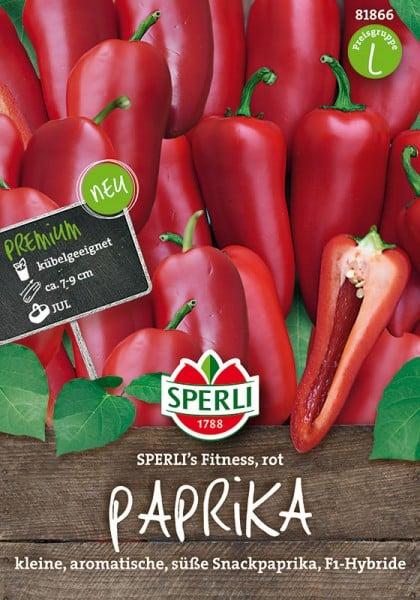 Paprika Sperli´s Fitness Rot