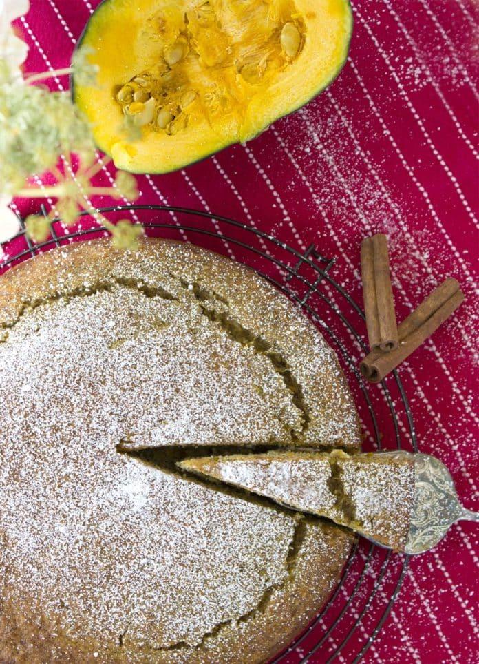 Zucchini-Kürbis-Kuchen