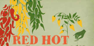 Red Hot Chili Garden Cover
