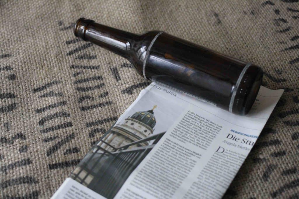 Anzuchttopf Zeitungspapier
