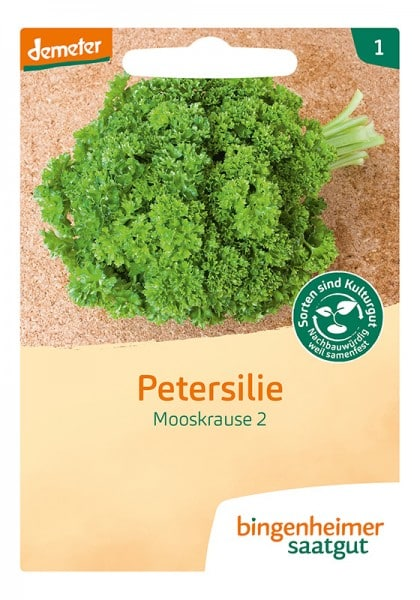 Petersilie Mooskrause