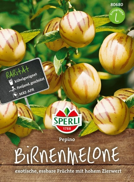 Birnenmelonen Pepino